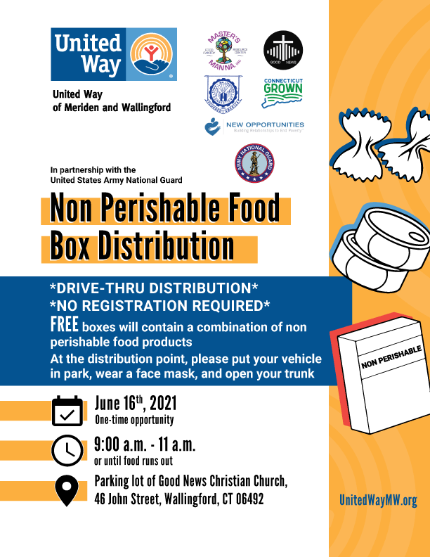 Food Distribution on June 16, 2021