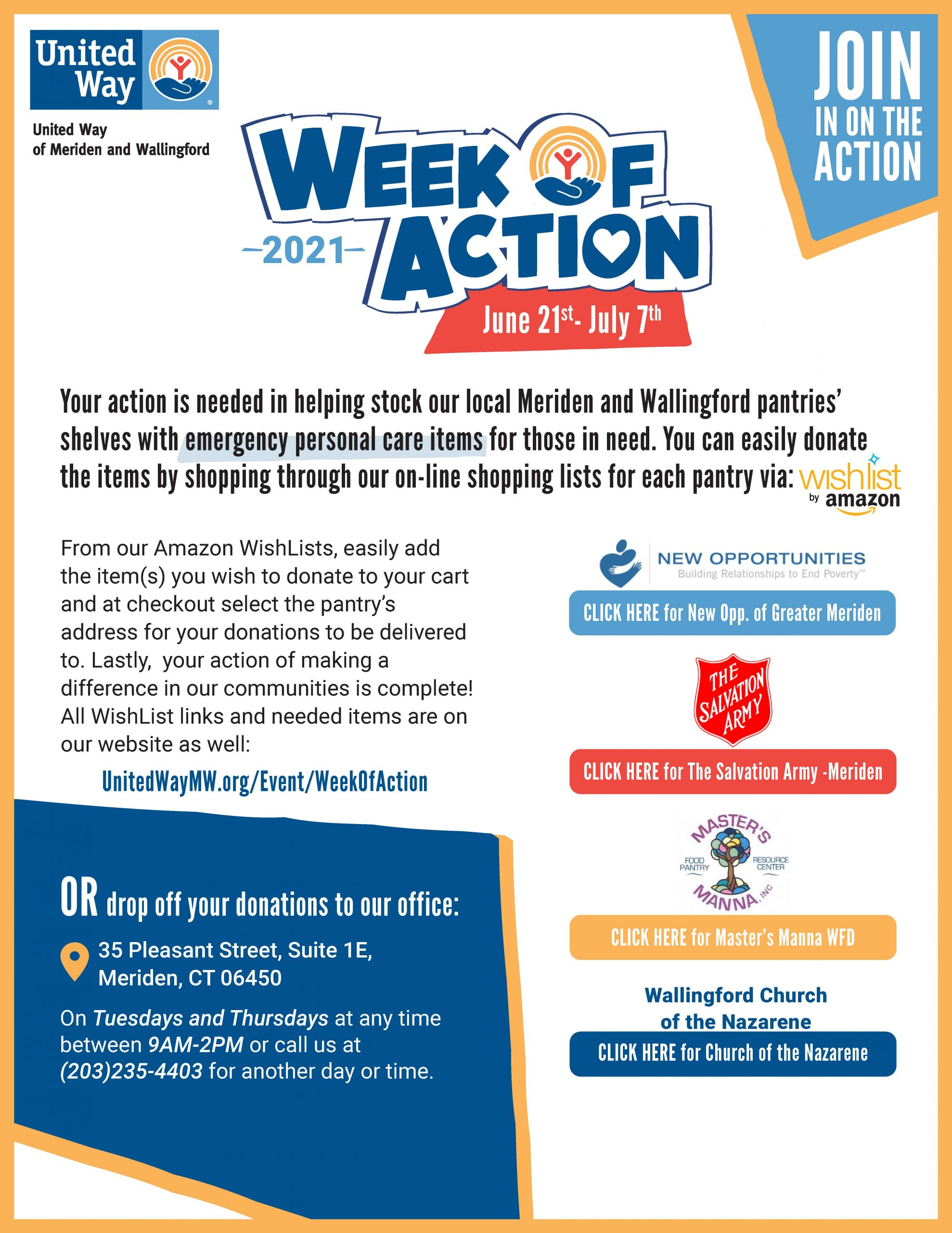 Week of Action (links)