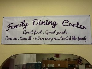 family dining center